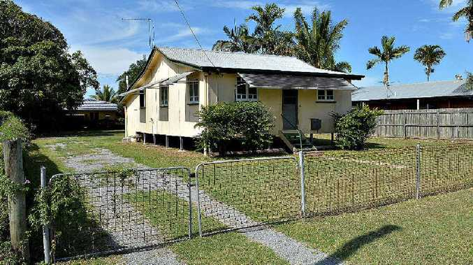 The development site approved for four units on 250sqm of land each at 24 Graffunder St, Mackay.