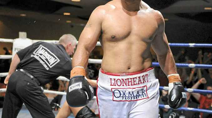 "TOUGH COMPETITION: Alex ""Lion Heart"" Leapai will fight Russia's WBO No. 1 heavyweight Denis Boystov to secure a chance to contest the world heavyweight title."