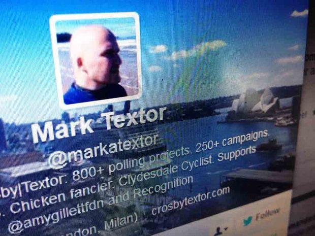 Mark Textor's Twitter account.
