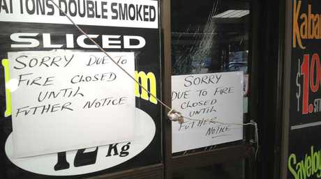 Patton's Discounts Meats was closed after fire tore though the Hooper Centre business. The store has since reopened.
