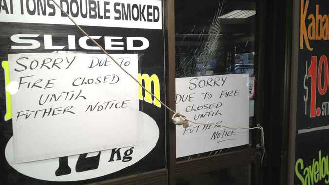Patton's Discount Meats is closed this morning due to fire overnight.