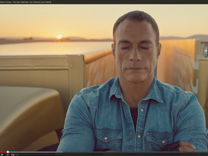 Volvo Van Damme Epic Split video goes viral, leads to parody