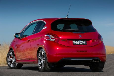 The Peugeot 208 GTi.