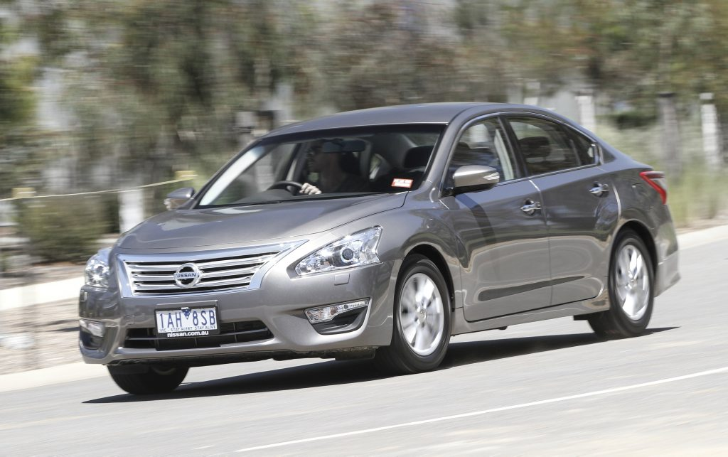 The new Nissan Altima.