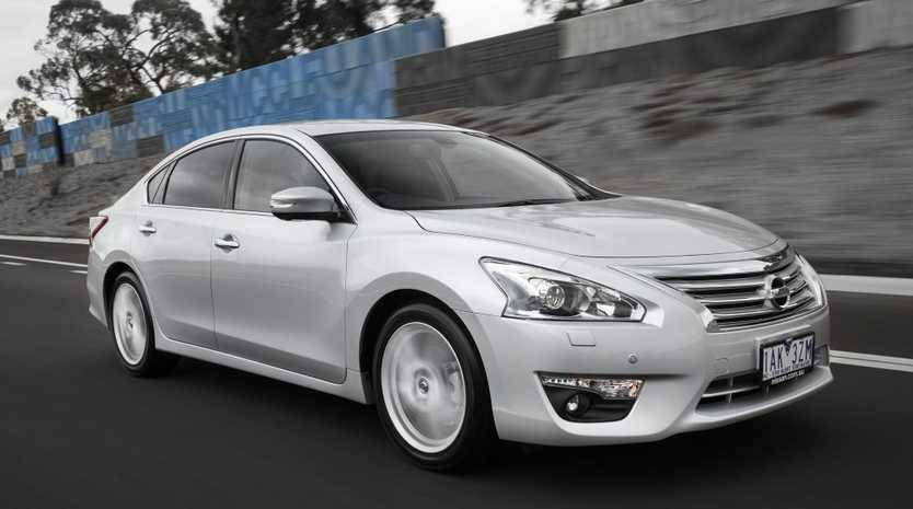 The Nissan Altima.