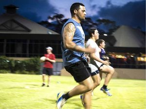 Gladstone players out in force to train for Capras spot