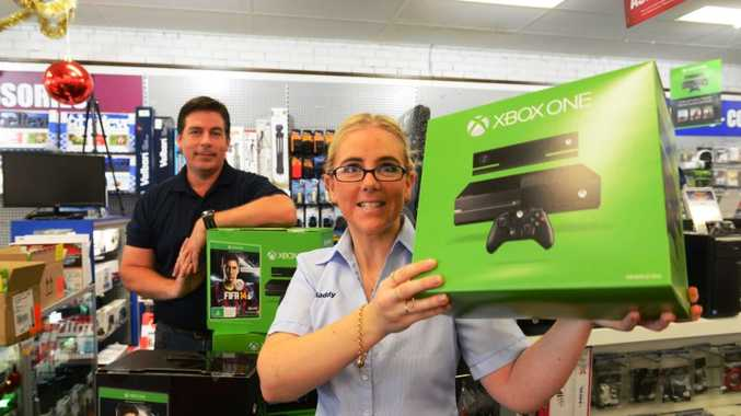 Harvey Norman Grafton store manager Scott Gilbert reports demand has been high already for the XBox new generation console.