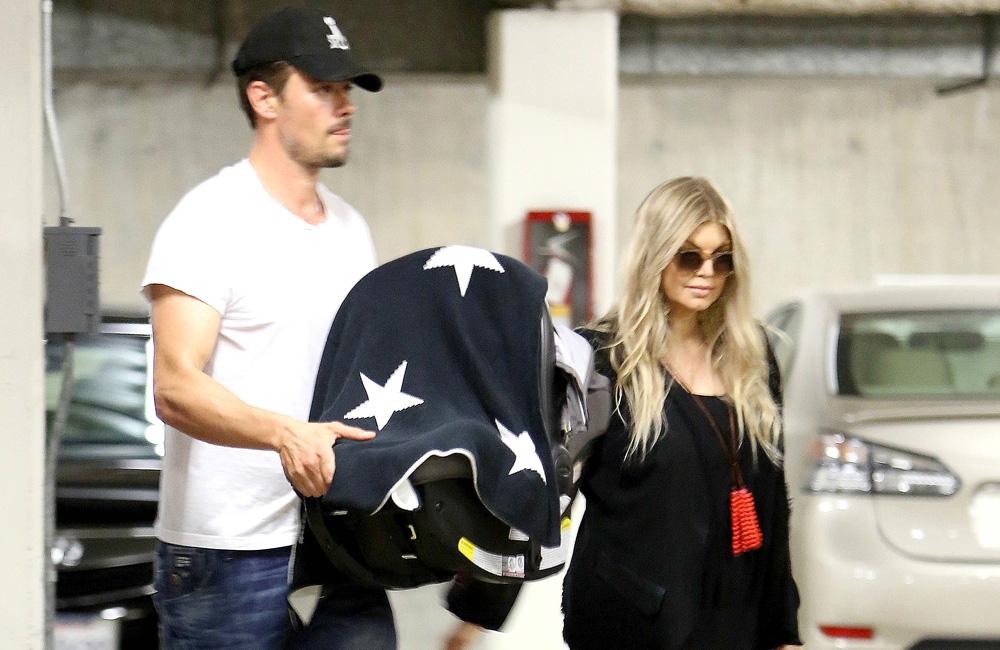 Fergie and Josh Duhamel.