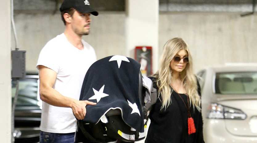 Fergie and Josh Duhamel.
