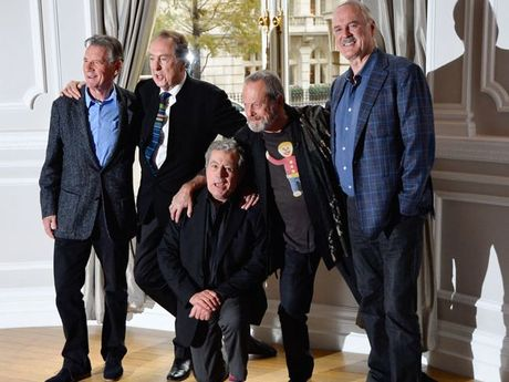 The Monty Python team.