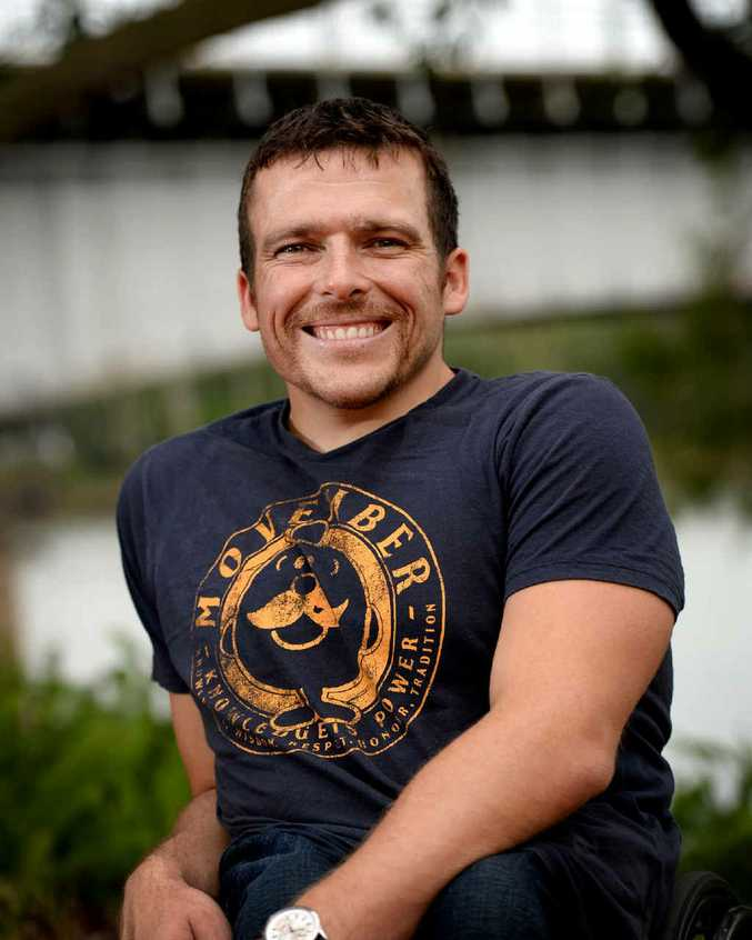 Kurt Fearnley announced his plans for the 2016 Rio Olympics while he was in Rockhampton for The Link Lunches on Friday.
