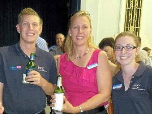 Jobs movie inspires Christmas party-goers