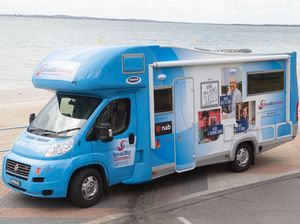 Big noise in business circles about Small Biz Bus visit