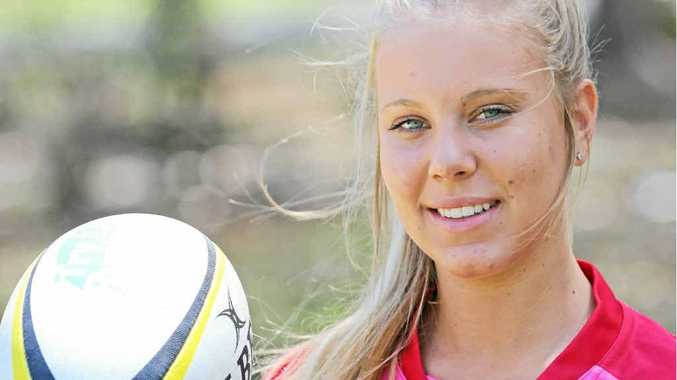 IN NATIONAL SQUAD: Maddy Phelps would love to represent Australia in rugby sevens at the 2016 Rio Olympics.
