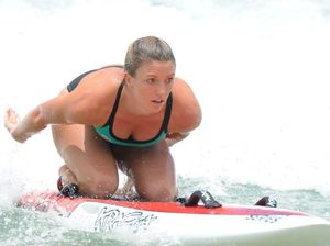 Yamba ironwoman battles the flu before start of surf series