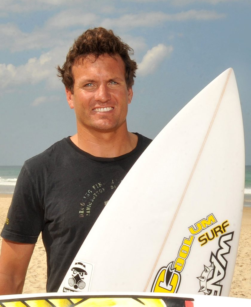 Trevor Tripcony and Chris Boyd ready for the surfing competition. Photo:Warren Lynam / Sunshine Coast Daily