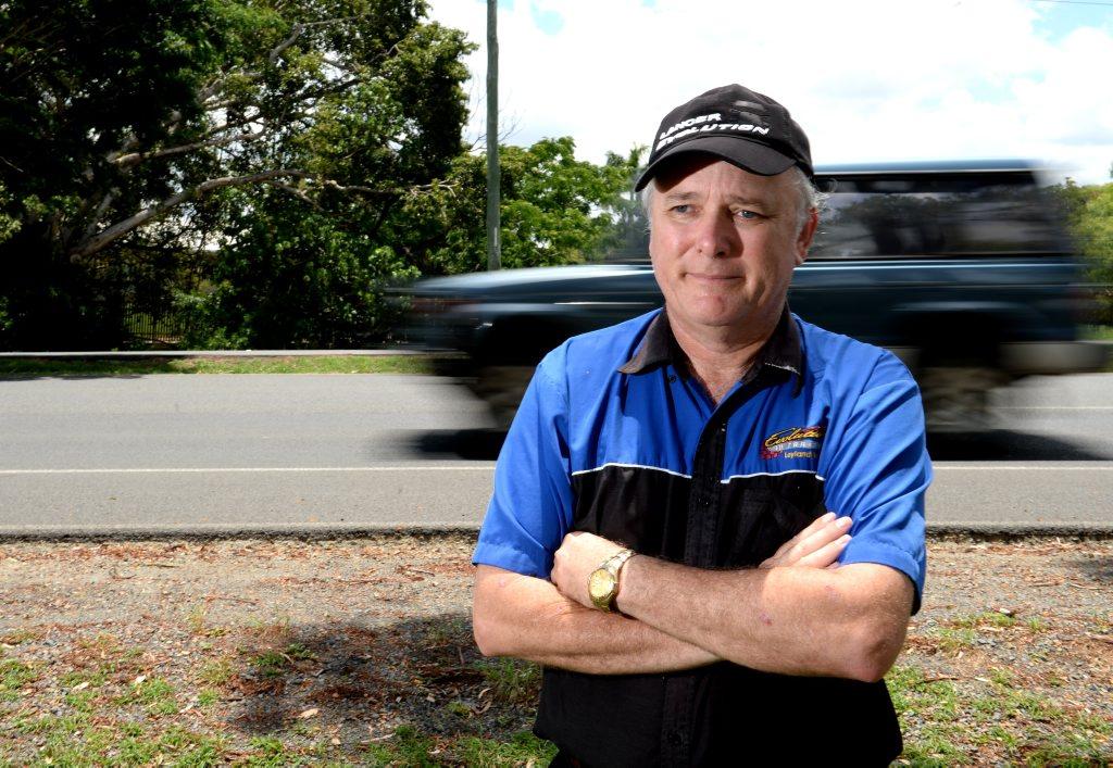 Driving instructor Leyland Barnett. Photo Allan Reinikka / The Morning Bulletin
