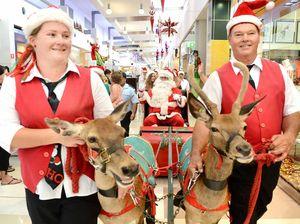 Santa delivers festive spirit