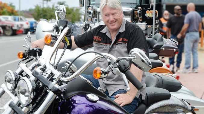 Mackay Motorcycles sales manager Rob Faux wouldn't ride anything other than a Harley-Davidson Motorcycle.