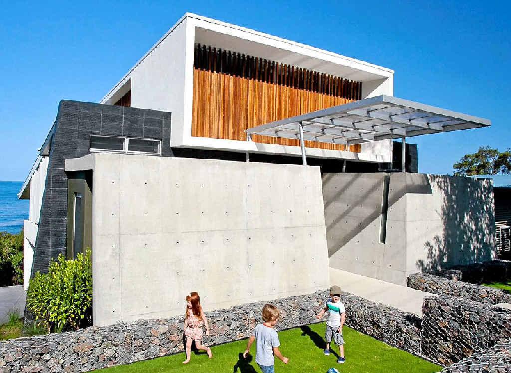CLASS RESIDENCE: The award-winning Aboda-designed, Fauna Home-built house at Coolum.
