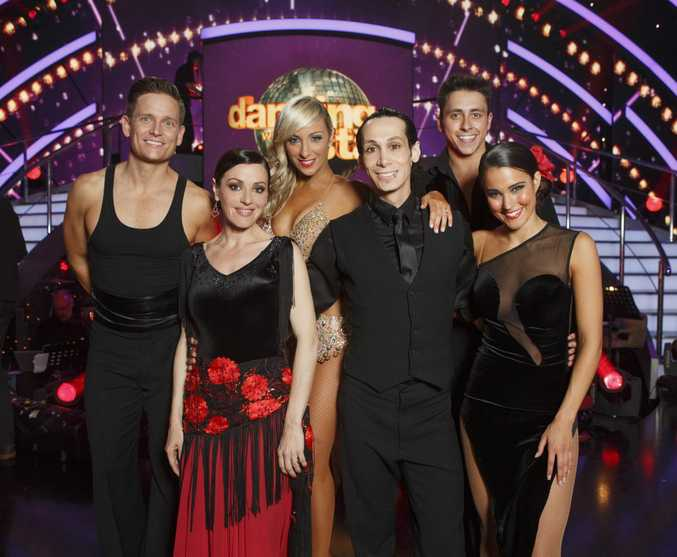 The DWTS Top 3: Tina Arena, Cosentino and Rhiannon Fish.