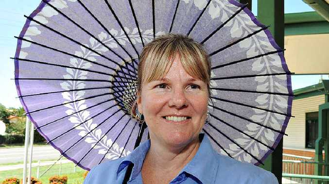 LEARNING NEW THINGS: Linda Williams is looking forward to learning all she can about the Japanese culture.
