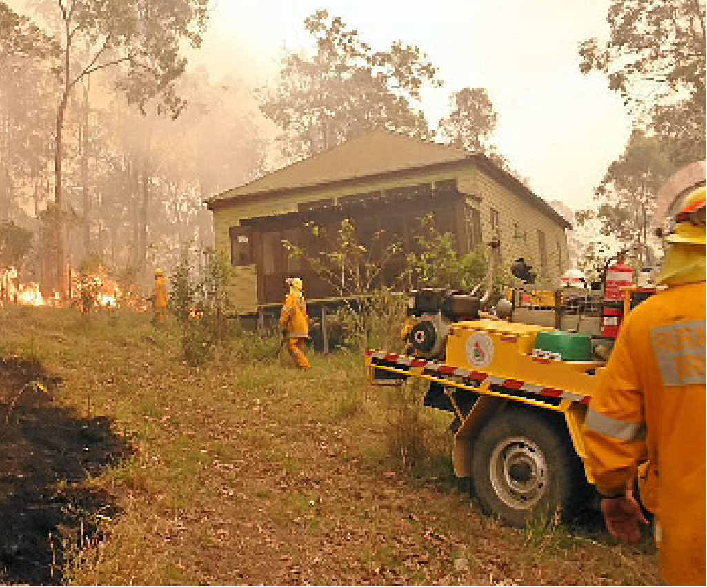 FIRE THREAT: Have an action plan. Photo: Contributed.