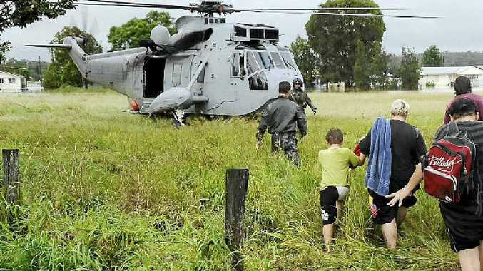 HELP THEM HELP YOU: Emergency services have done a remarkable job helping residents during testing years. PHOTO: Petty Officer Damian Pawlenko.