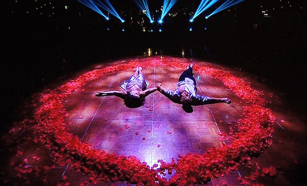 Tina Arena's final DWTS performance.
