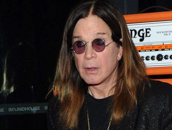 Ozzy Osbourne lives sober.