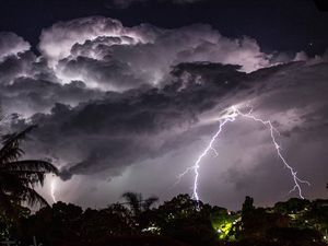 STORM COMING: Hail, winds of up to 90km/h