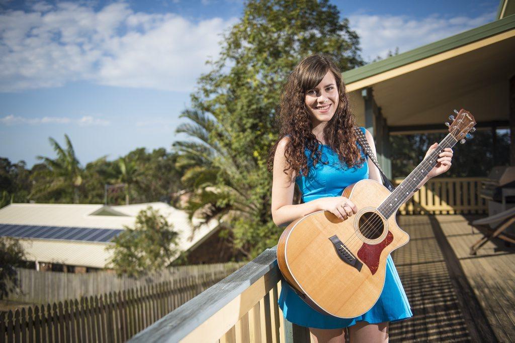 Local musician Hayley Marsten, 19.