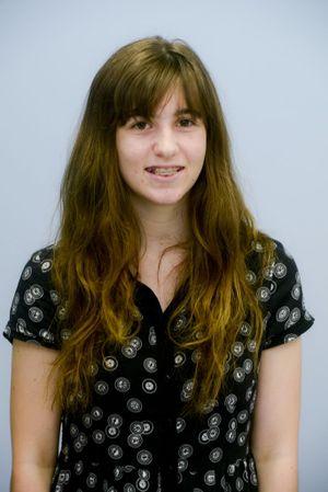 Work experience student Grace Greedy Photo Adam Hourigan / The Daily Examiner