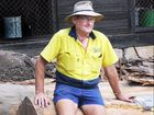 Brooweena sawmill manager Roger Fallon.
