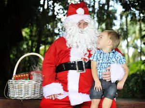 Santa's checking his list at Summerland House this weekend
