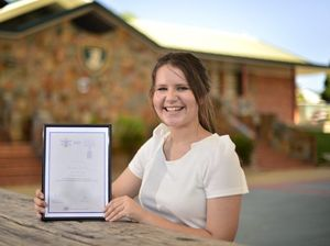 Hard work rewarded as graduate snares leadership award
