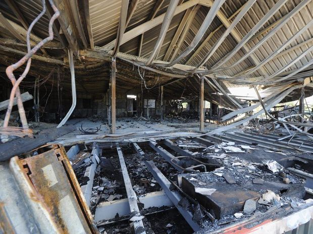 Fire has gutted the clubhouse at Fraser Lakes Golf Course in Craignish.
