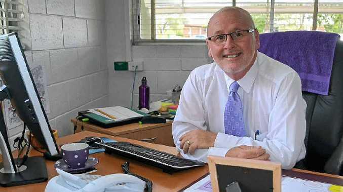 LOCALS FIRST: Lockyer District High School principal Andrew Pierpoint manages an enrolment plan.