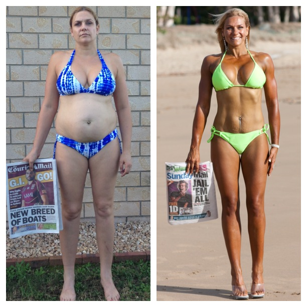 Yolande Mitchell lost 14kg and toned up to win the Shape Up Challenge.