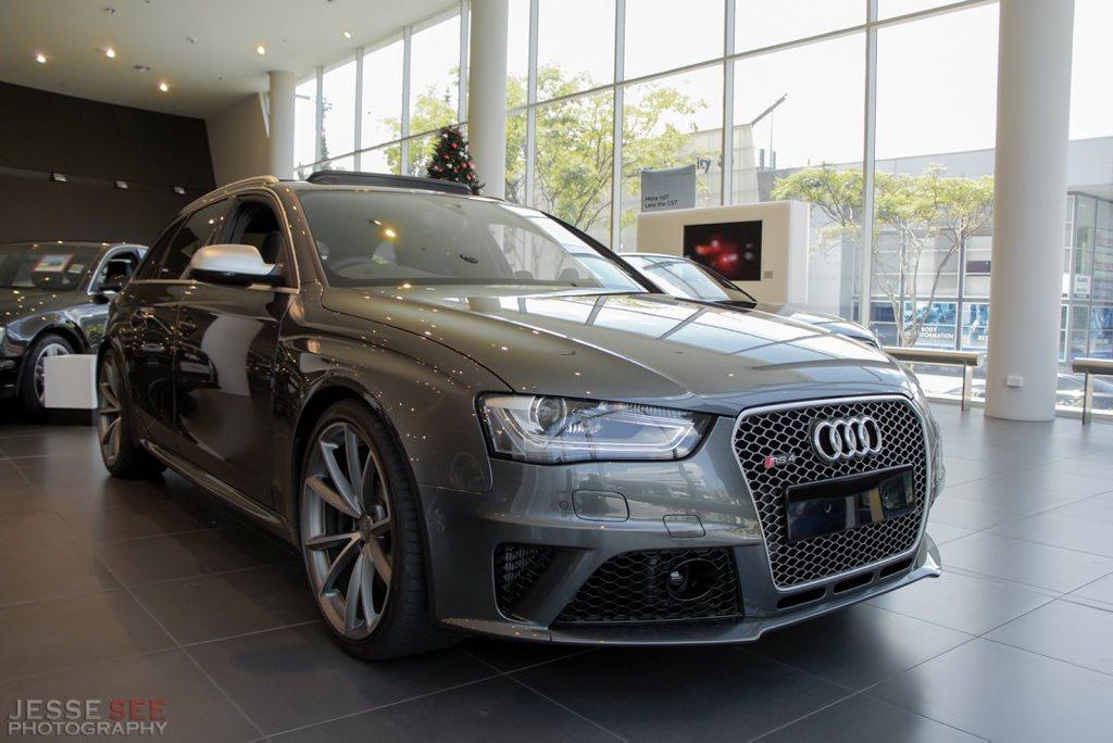 The Audi RS4 Avant.