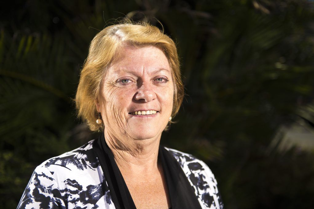 Member of the Queensland Parliament for Gladstone Liz Cunningham.
