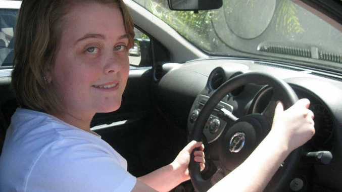 HAPPY: Learner driver Rebekah Lougher likes the faster speed limit.