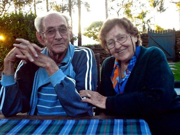 Bernard and Joyce Birmingham at their Goonellabah home.
