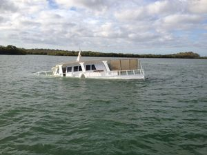 Boat sinks on maiden voyage after conversion from trawler