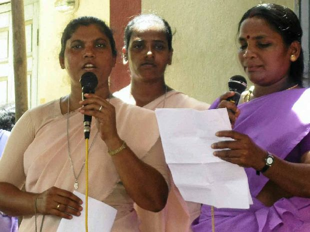 The Daughters of Mary Immaculate hosted the conference and teach self confidence to village women.