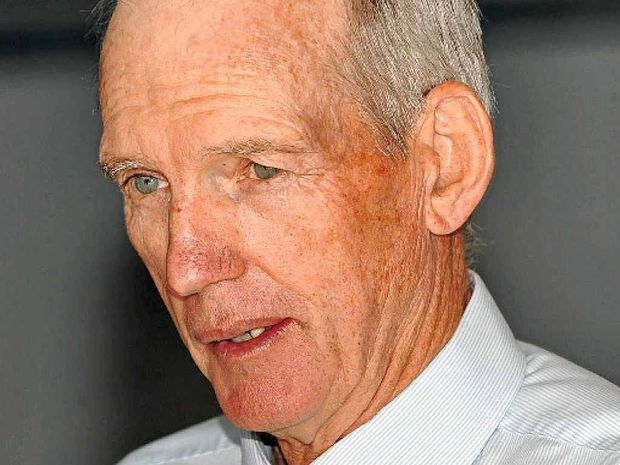 HOT TIP: Wayne Bennett told a luncheon at Mooloolaba SLSC Australia would win the Cup.