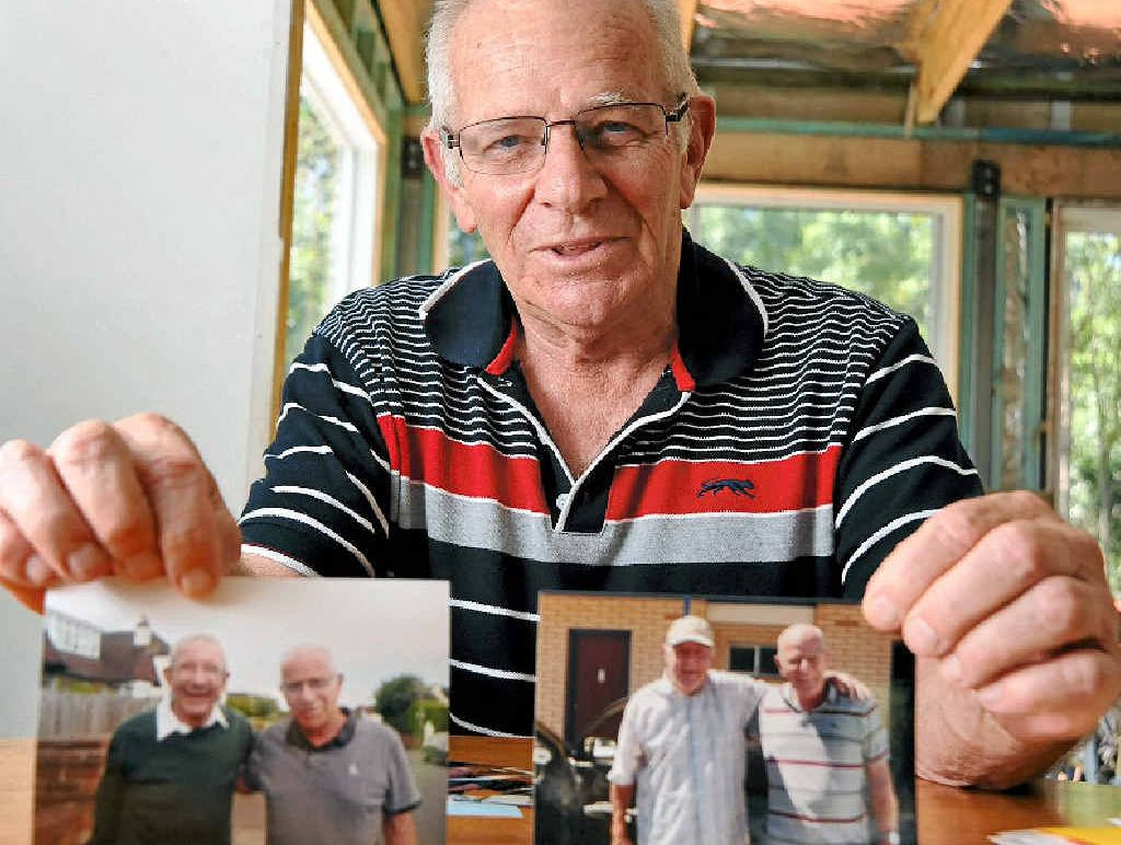 OVERWHELMING EXPERIENCE: Now in regular contact with his eight siblings, Buderim resident Mark Davies says he has enjoyed one of the best years of his life.