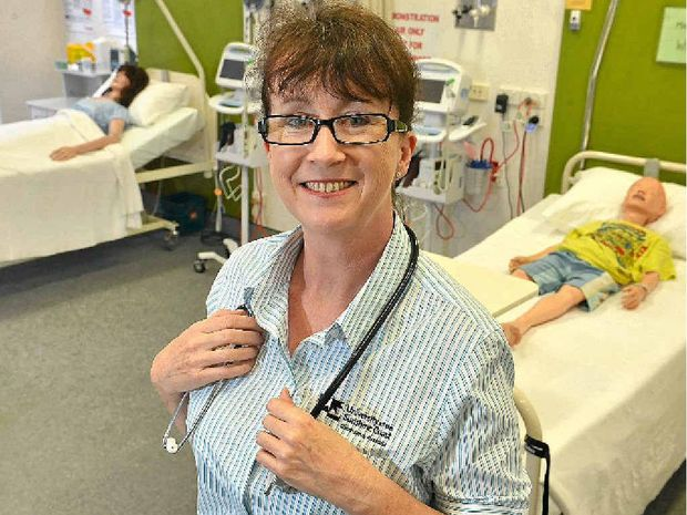 TOP HONOUR: Sonya Wallace has been selected by the Australian College of Nursing from applicants across the country for the emerging nurse leaders award.