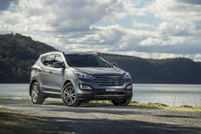 The Hyundai Santa Fe.
