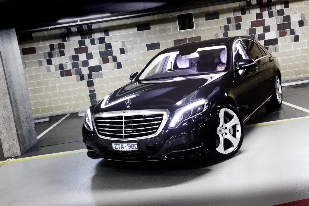 The new Mercedes-Benz S-Class.